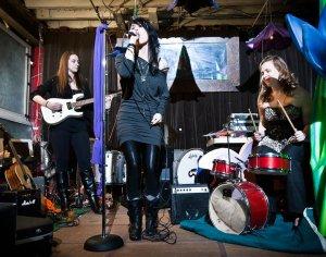My band, No Ambition. (photo by A. Jesse Jiryu Davis)