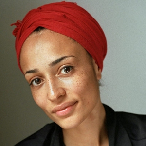 Practical but fashionable: I love this turban she rocks.