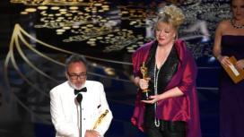 Lisa Thompson wins for best production design.